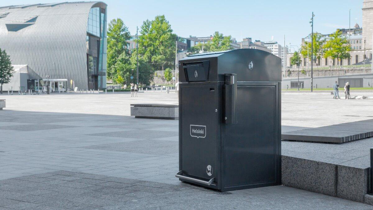 Citysolar_szeméttároló_Helsinki- Dekorkuka