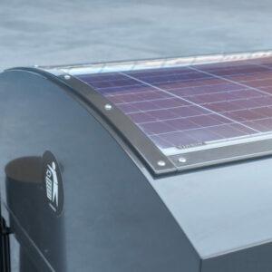 CitySolar napelemes high-tech intelligens kuka-tömörítő